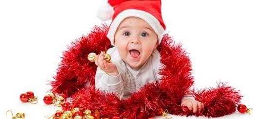 Празднование нового года с детьми